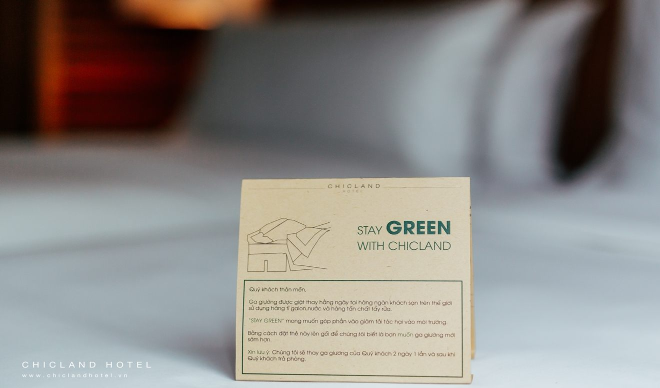 Go Green with CHICLAND | Cúc Tần