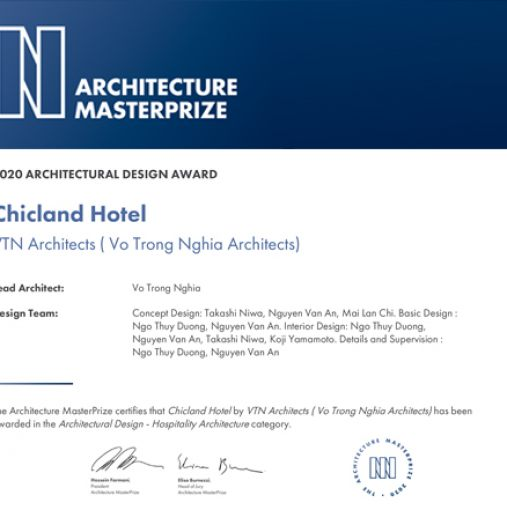 2020 Architectural Design Award | Architecture MasterPrize
