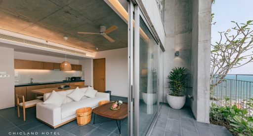 Nho Biển 2 Bedroom Apartment with Balcony