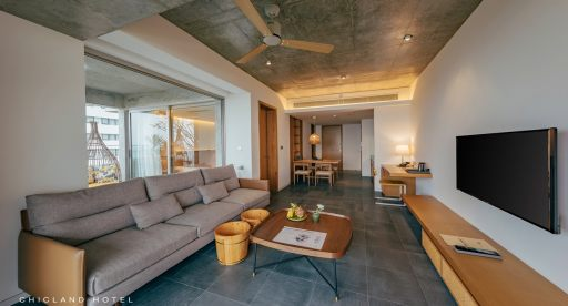 CHICLAND Penthouse | Phong Ba Ocean Front with balcony