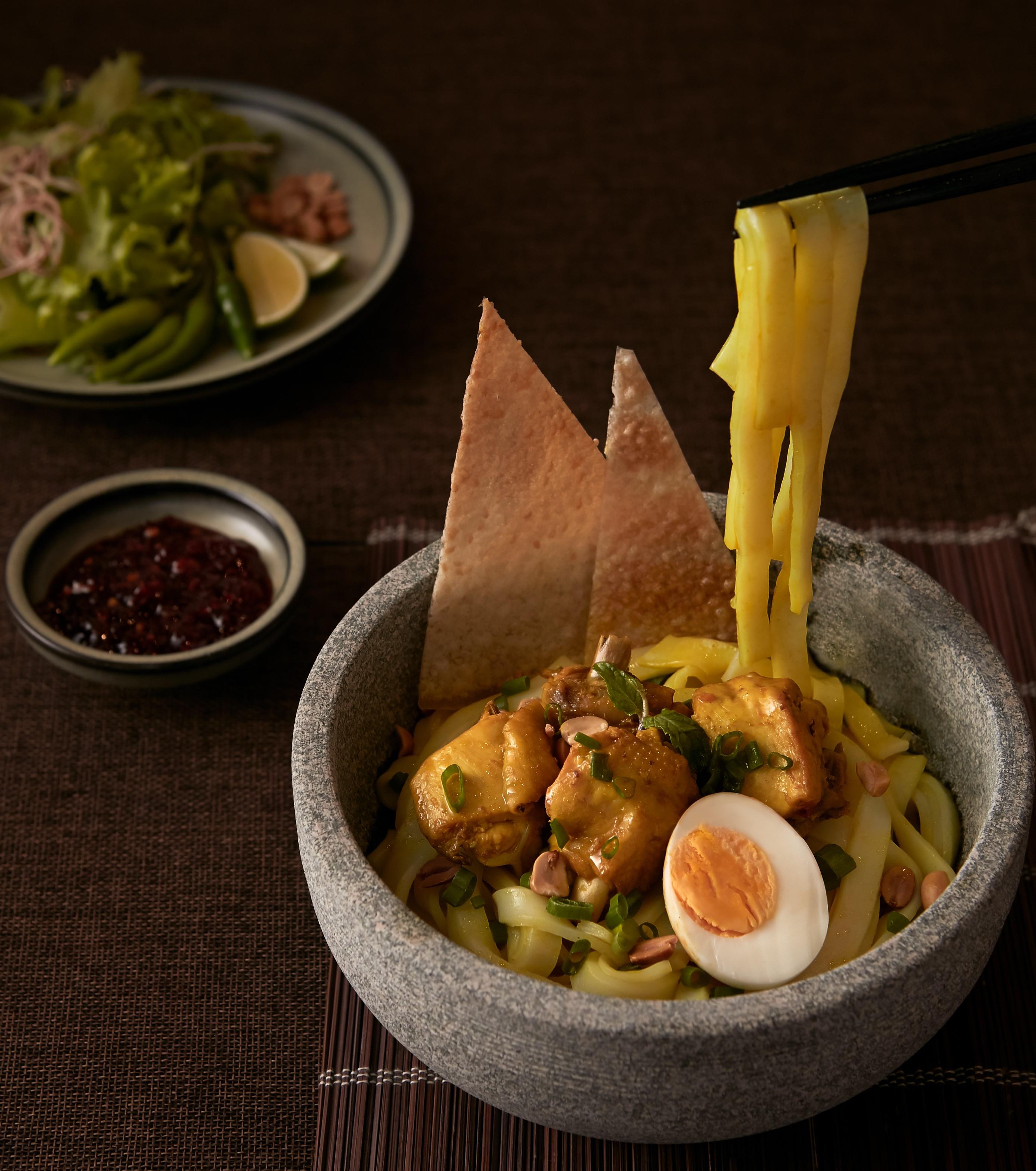 Cuisine at LÁ HẸ restaurant