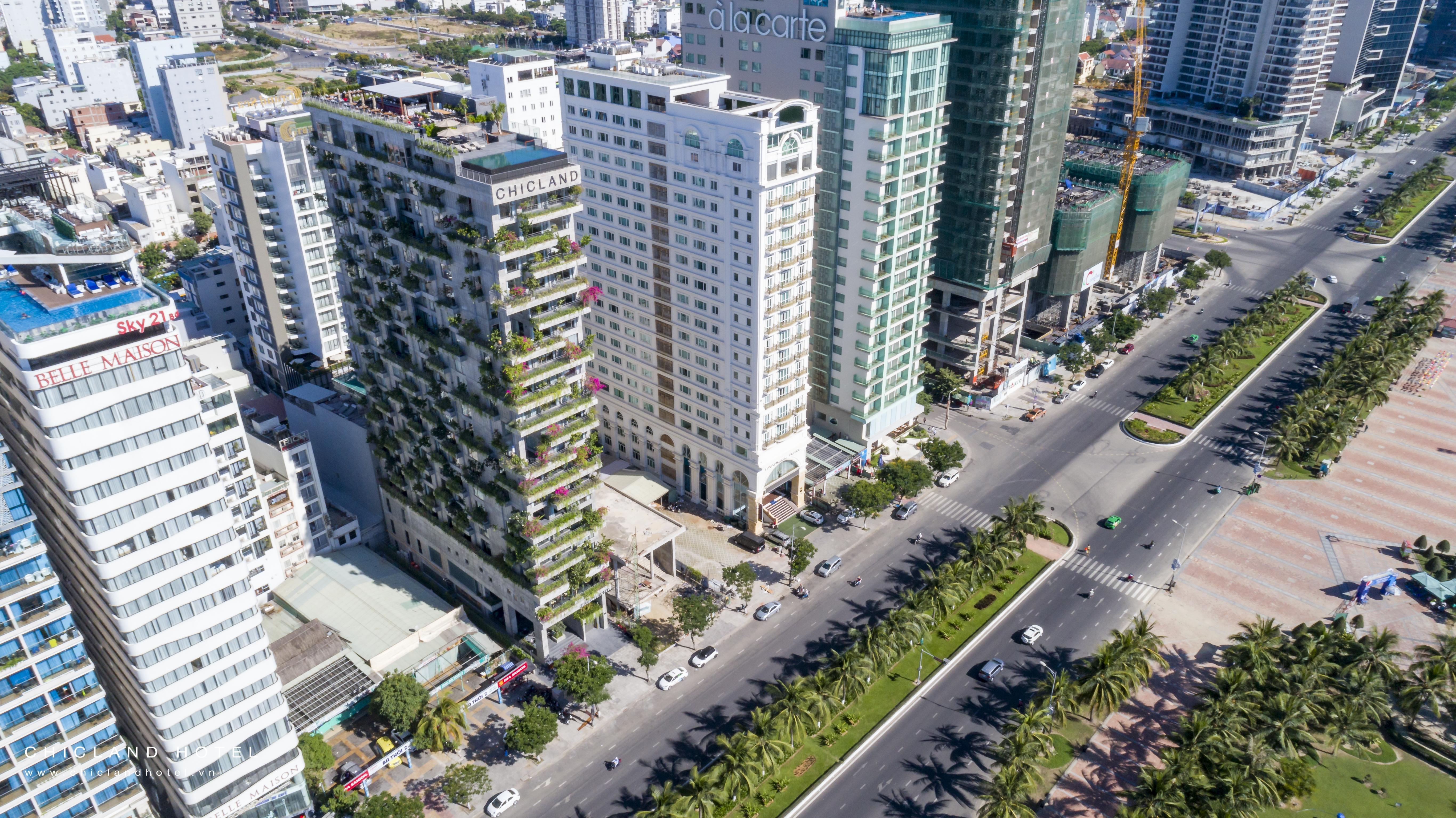 VTN architect | CHICLAND Hotel